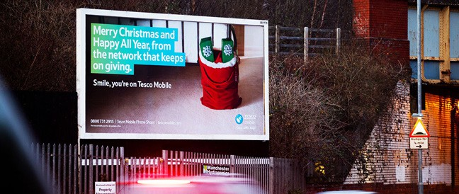 Billboard Design for Tesco