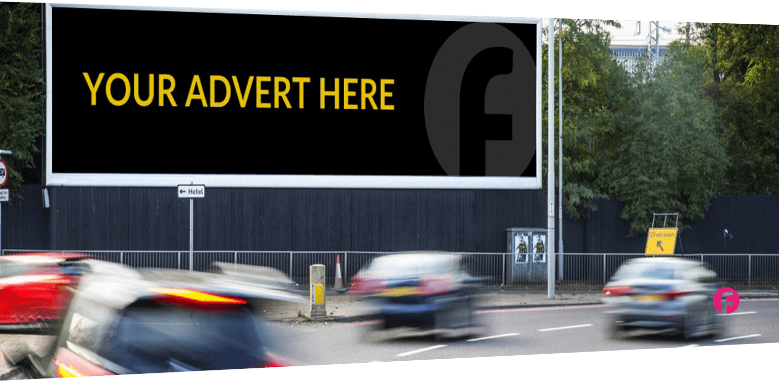 Billboard advert placement essex