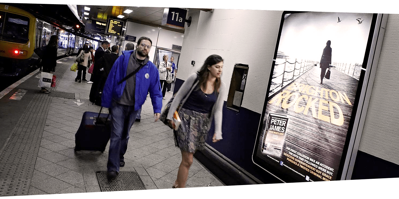 London Rail Station Advertising