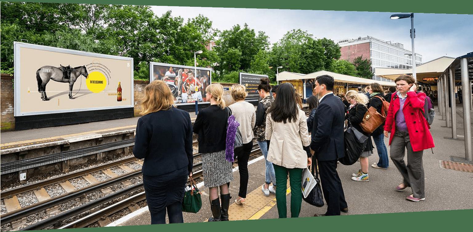 Train Station - Ads